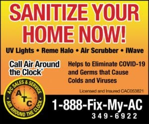 atc sanitize your home now